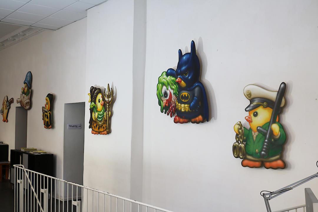 Won abc graffiti artist for Jardin gris voodoo shop conyers
